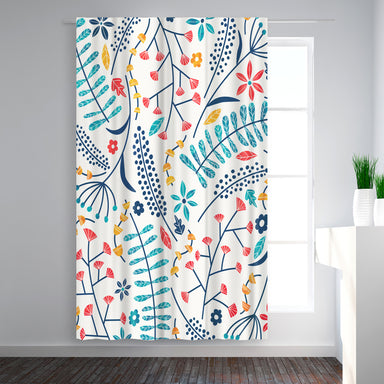 Blackout Curtain Single Panel - Koromiko by Tracie Andrews - Blackout Curtains - Americanflat