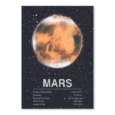 Mars by Tracie Andrews Art Print - Art Print - Americanflat