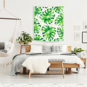 Monstera Leaves by Tracie Andrews Tapestry