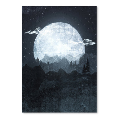 Moonrise by Tracie Andrews Art Print - Art Print - Americanflat