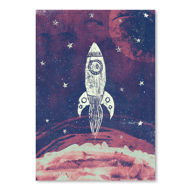 Space Adventure by Tracie Andrews Art Print - Art Print - Americanflat