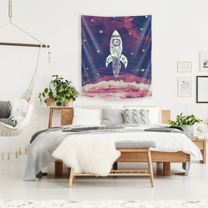 Space Adventure by Tracie Andrews Tapestry