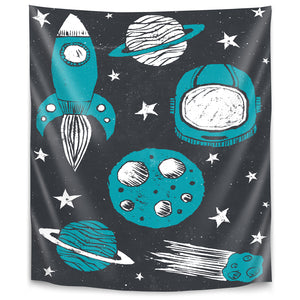 Space Age by Tracie Andrews Tapestry