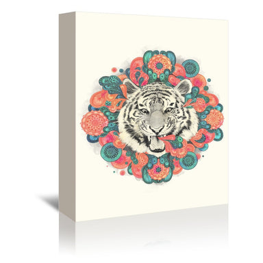 Bengal Mandala by Laura Graves Wrapped Canvas - Wrapped Canvas - Americanflat