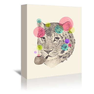 Leopard Changes his spots by Laura Graves Wrapped Canvas - Wrapped Canvas - Americanflat