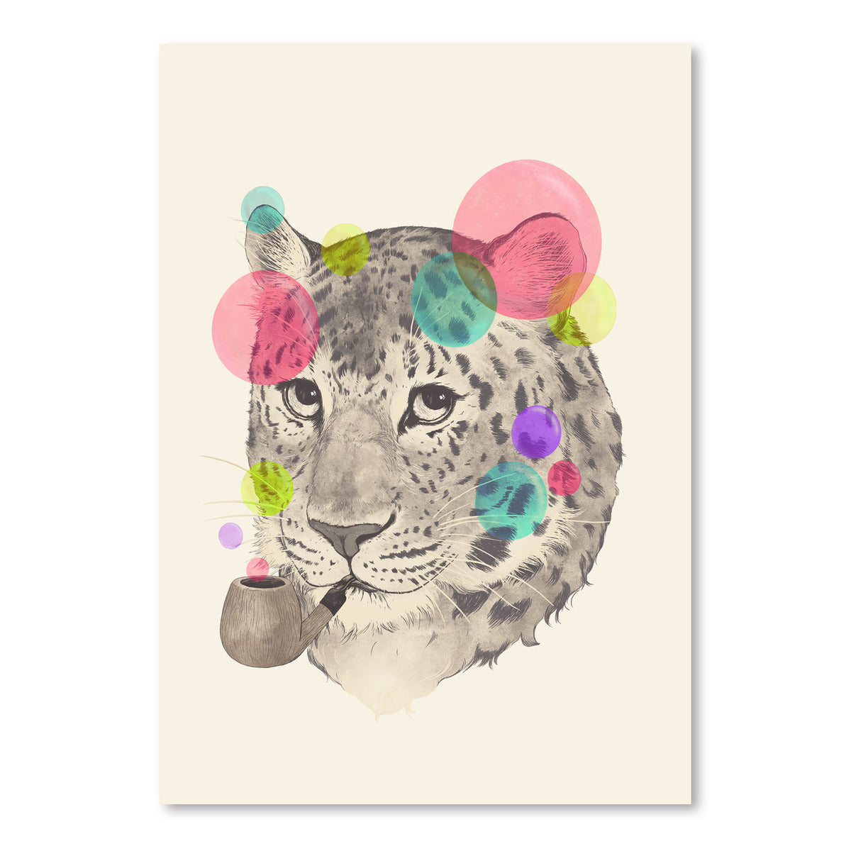 Leopard Changes His Spots by Laura Graves Art Print - Art Print - Americanflat