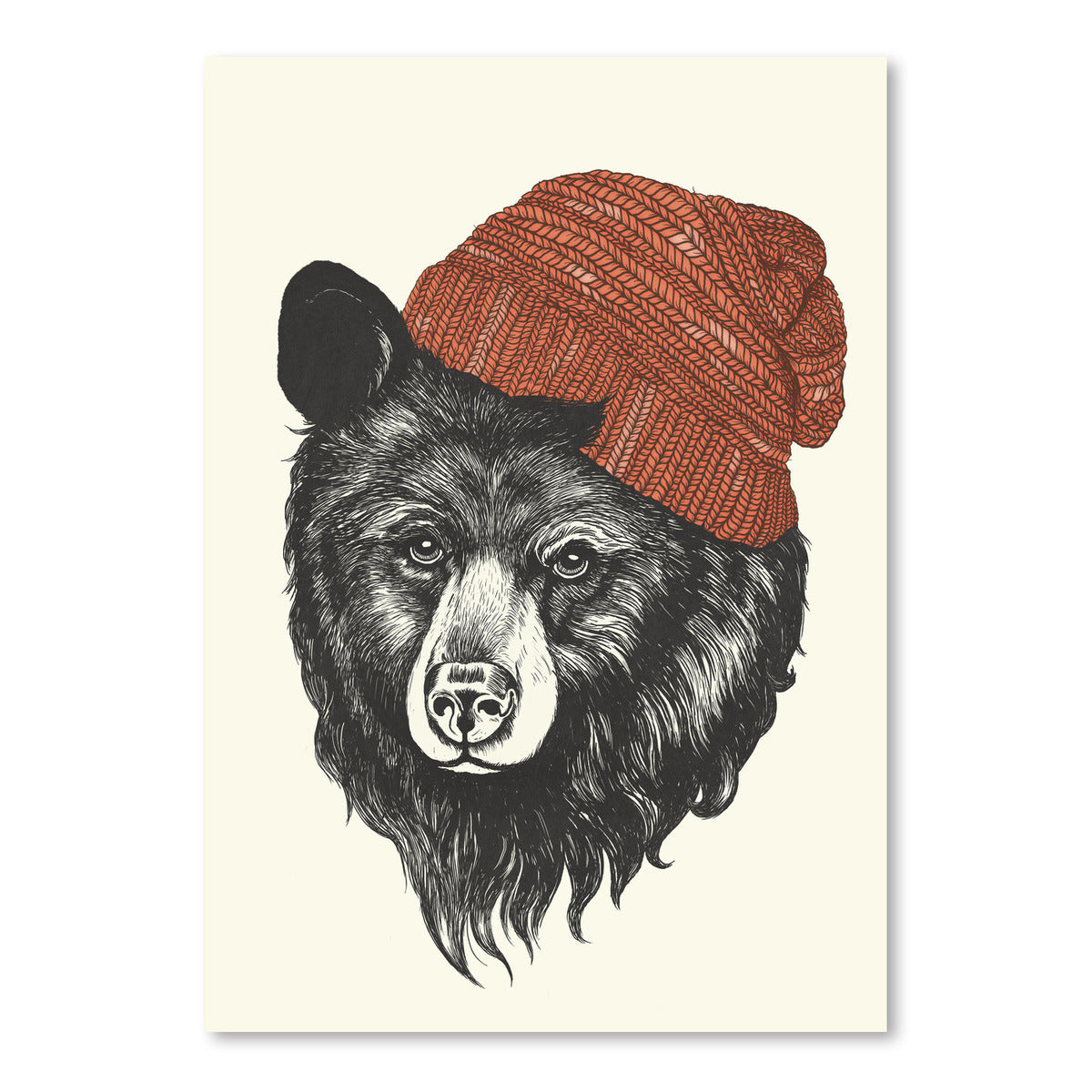 Zissou The Bear by Laura Graves Art Print - Art Print - Americanflat