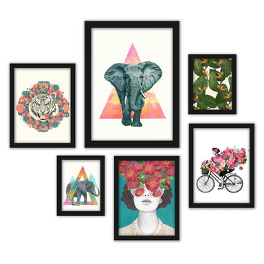 Whimsical Contemporary Framed Art Set - Art Set - Americanflat