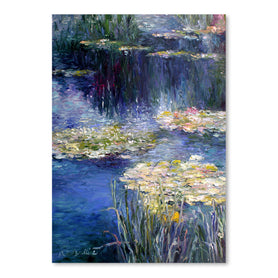 Lilies by Richard Wallich Art Print