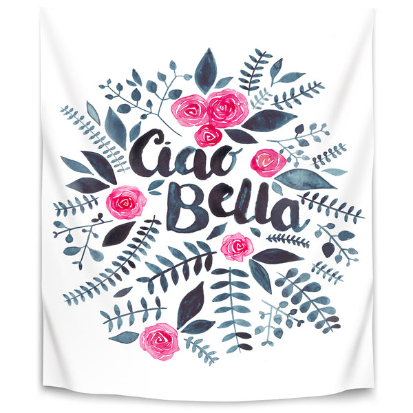 Ciao Bella by Elena O'Neill Tapestry