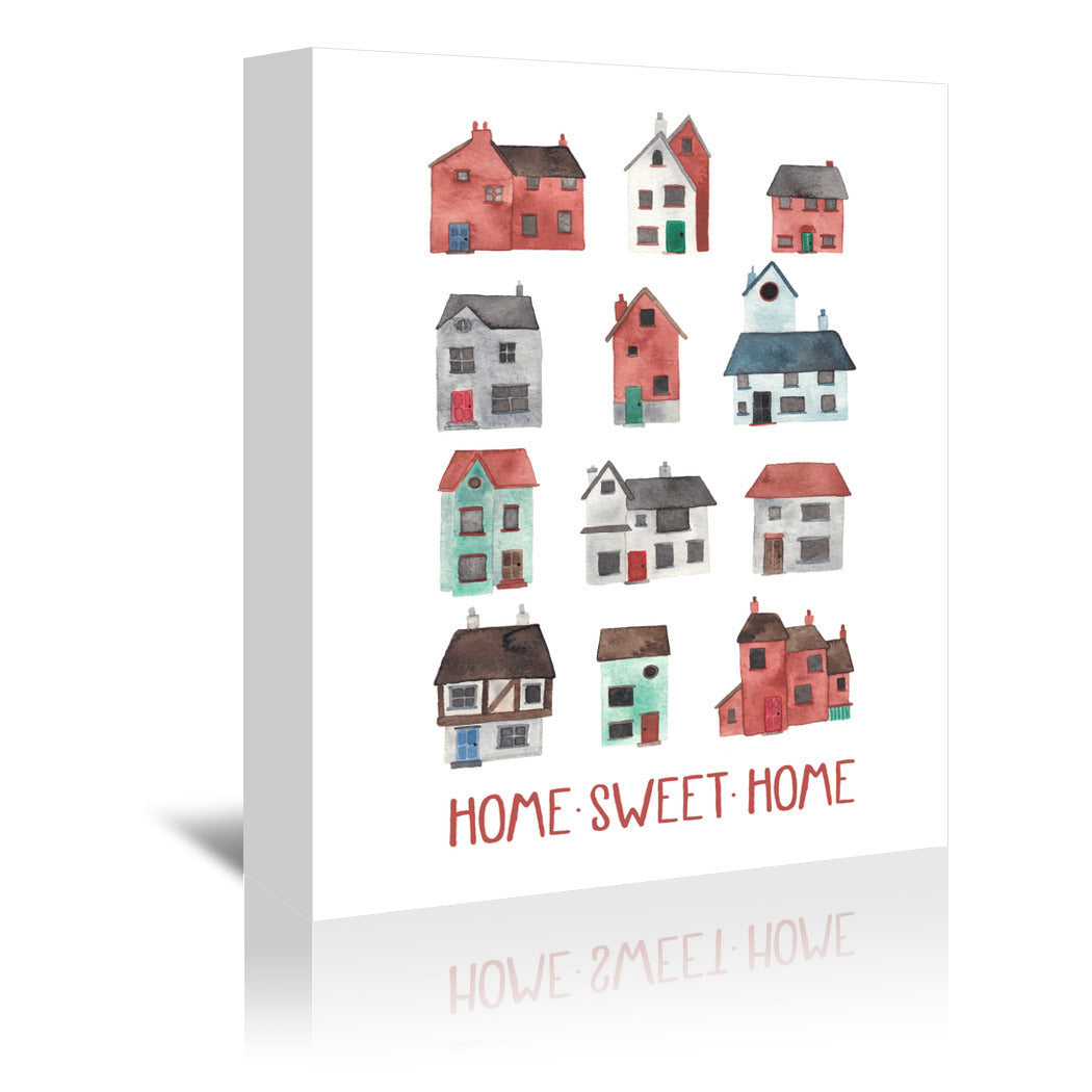 Home Sweet Home by Elena O'Neill Wrapped Canvas - Wrapped Canvas - Americanflat