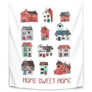 Home Sweet Home by Elena O'Neill Tapestry