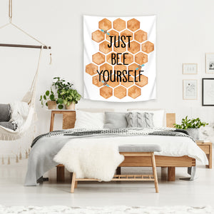 Just Bee Yourself by Elena O'Neill Tapestry
