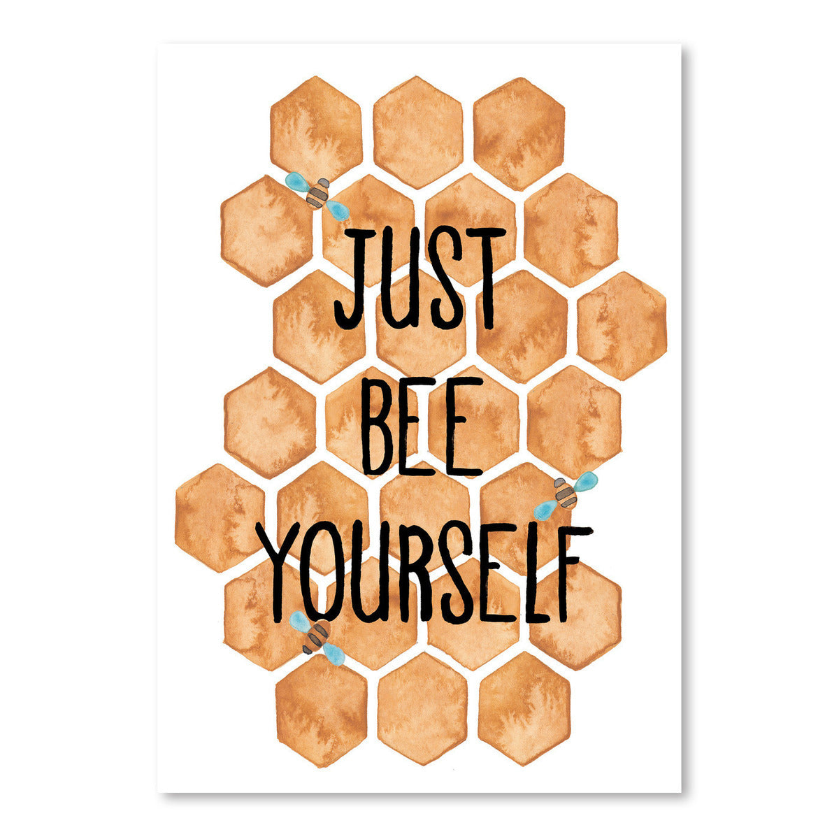 Just Bee Yourself by Elena O'Neill Art Print - Art Print - Americanflat