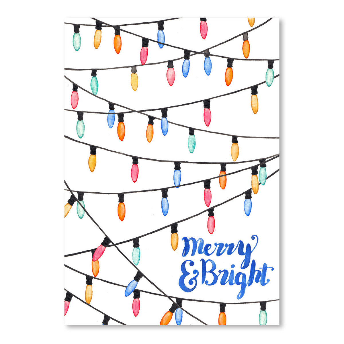 Merry And Bright by Elena O'Neill Art Print - Art Print - Americanflat