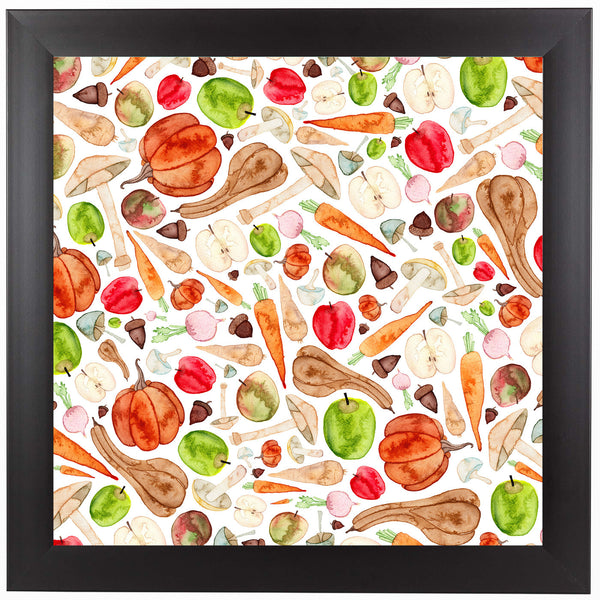 Fruit And Veg by Elena O'Neill Framed Print