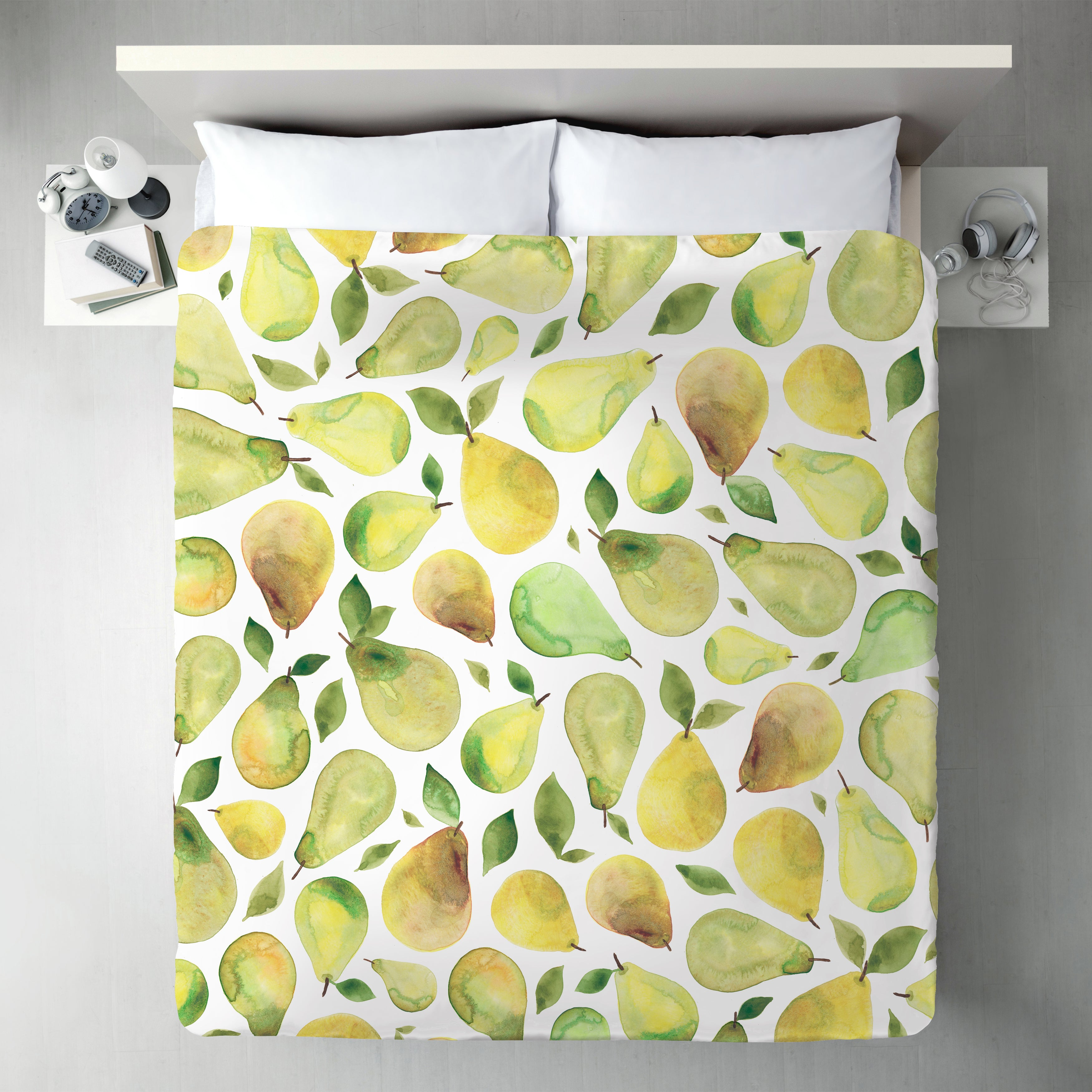 Pears by Elena O'Neill Duvet Cover - Duvet Covers - Americanflat