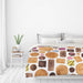 Sweets And Biscuits by Elena O'Neill Duvet Cover - Duvet Covers - Americanflat
