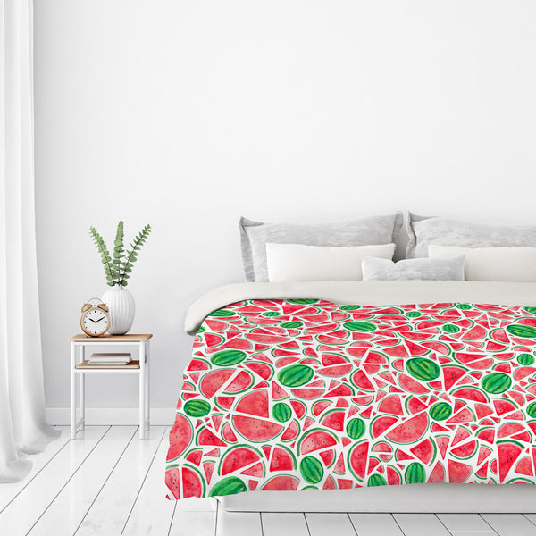 Watermelons by Elena O'Neill Duvet Cover