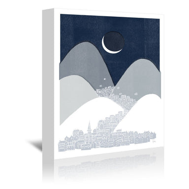Bleak Midwinter by David Fleck Wrapped Canvas - Wrapped Canvas - Americanflat