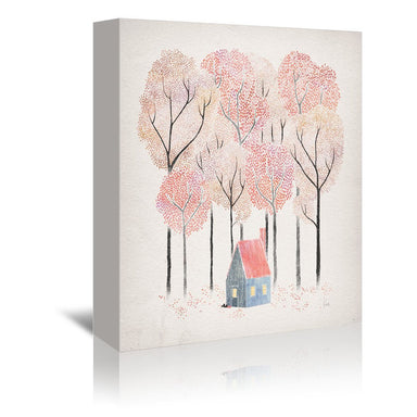 Cabin by David Fleck Wrapped Canvas - Wrapped Canvas - Americanflat