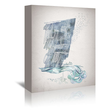 Cliffs by David Fleck Wrapped Canvas - Wrapped Canvas - Americanflat