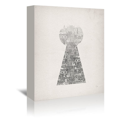 Glimpse by David Fleck Wrapped Canvas - Wrapped Canvas - Americanflat