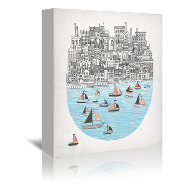 Joppa by David Fleck Wrapped Canvas - Wrapped Canvas - Americanflat