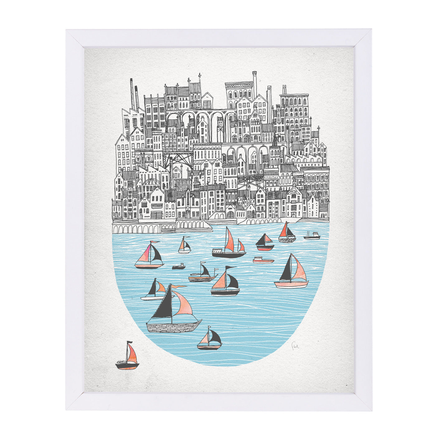 Joppa by David Fleck Framed Print - Americanflat