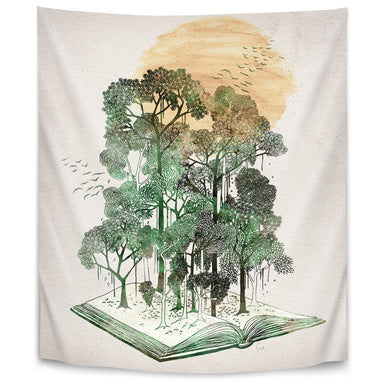 Jungle Book by David Fleck Tapestry - Wall Tapestry - Americanflat