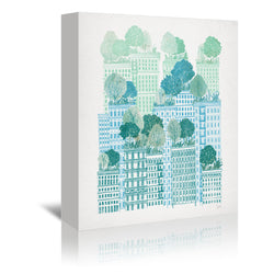 Juniper by David Fleck Wrapped Canvas