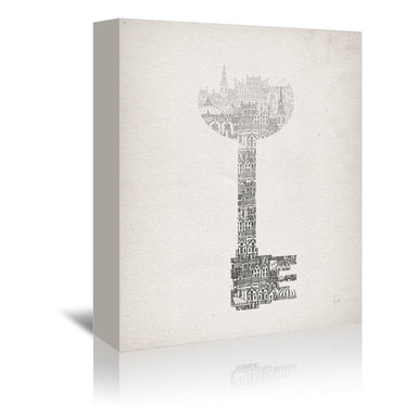 Key by David Fleck Wrapped Canvas - Wrapped Canvas - Americanflat