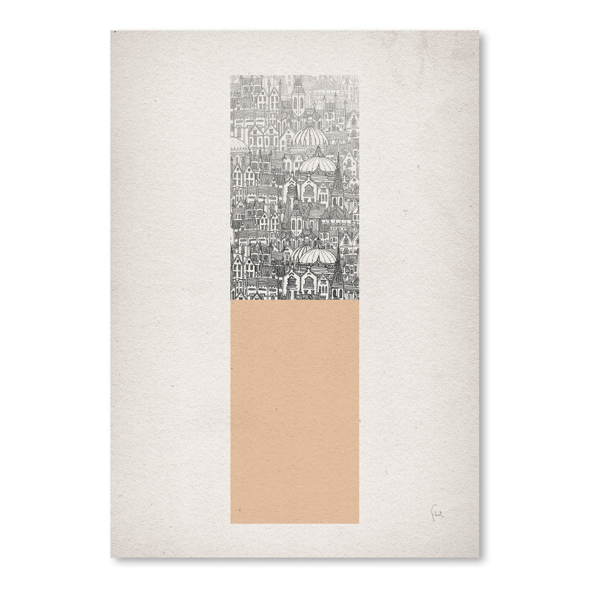 Rectangle by David Fleck Art Print - Art Print - Americanflat