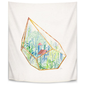 Terrarium 1 by David Fleck Tapestry