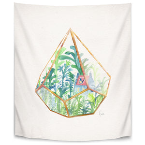 Terrarium 2 by David Fleck Tapestry