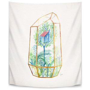 Terrarium 3 by David Fleck Tapestry