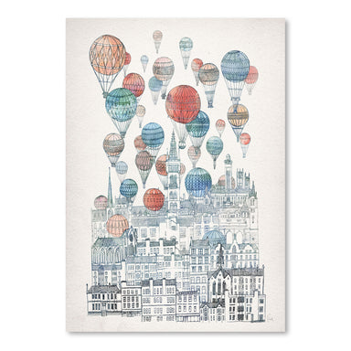 Voyages Over Glasgow by David Fleck Art Print - Art Print - Americanflat