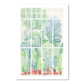 Winter In Glasshouses 1 by David Fleck Art Print