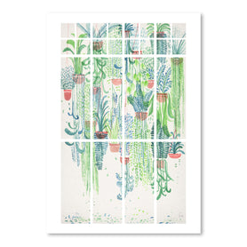 Winter In Glasshouses 2 by David Fleck Art Print