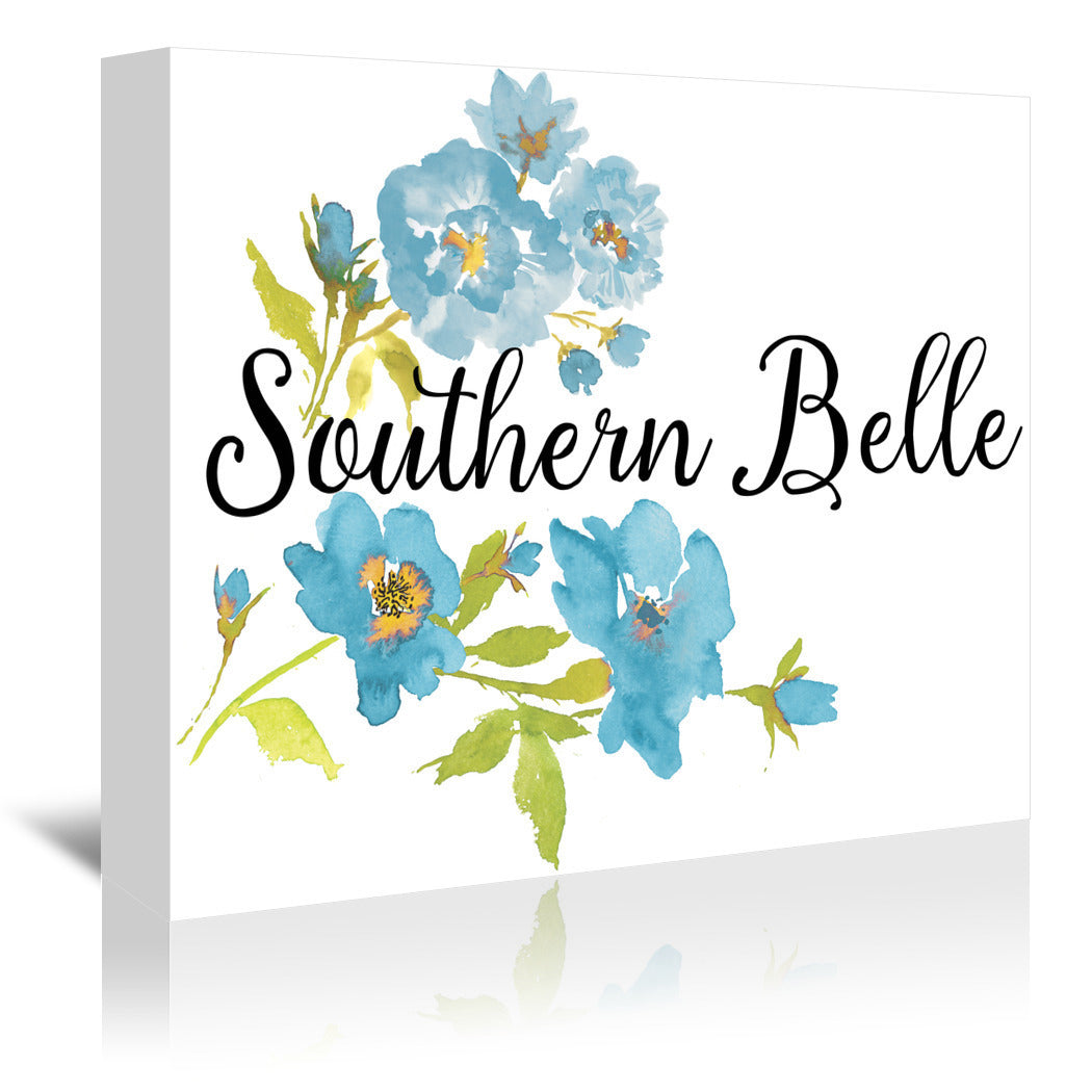 Southern Belle by Edith Jackson Wrapped Canvas - Wrapped Canvas - Americanflat