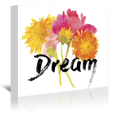 Dream by Edith Jackson Wrapped Canvas - Wrapped Canvas - Americanflat