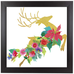 Blitzen by Edith Jackson Framed Print