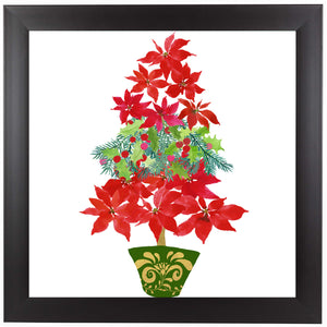 Holiday Tree by Edith Jackson Framed Print