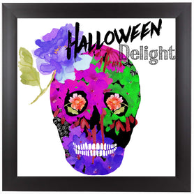 Halloween Delight by Edith Jackson Framed Print