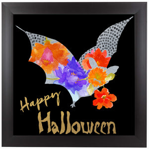 Silver Bat by Edith Jackson Framed Print