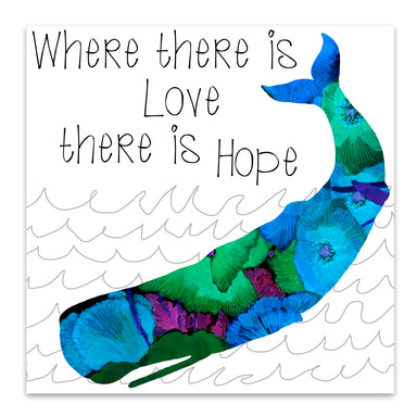 Love And Hope by Edith Jackson Art Print - Art Print - Americanflat