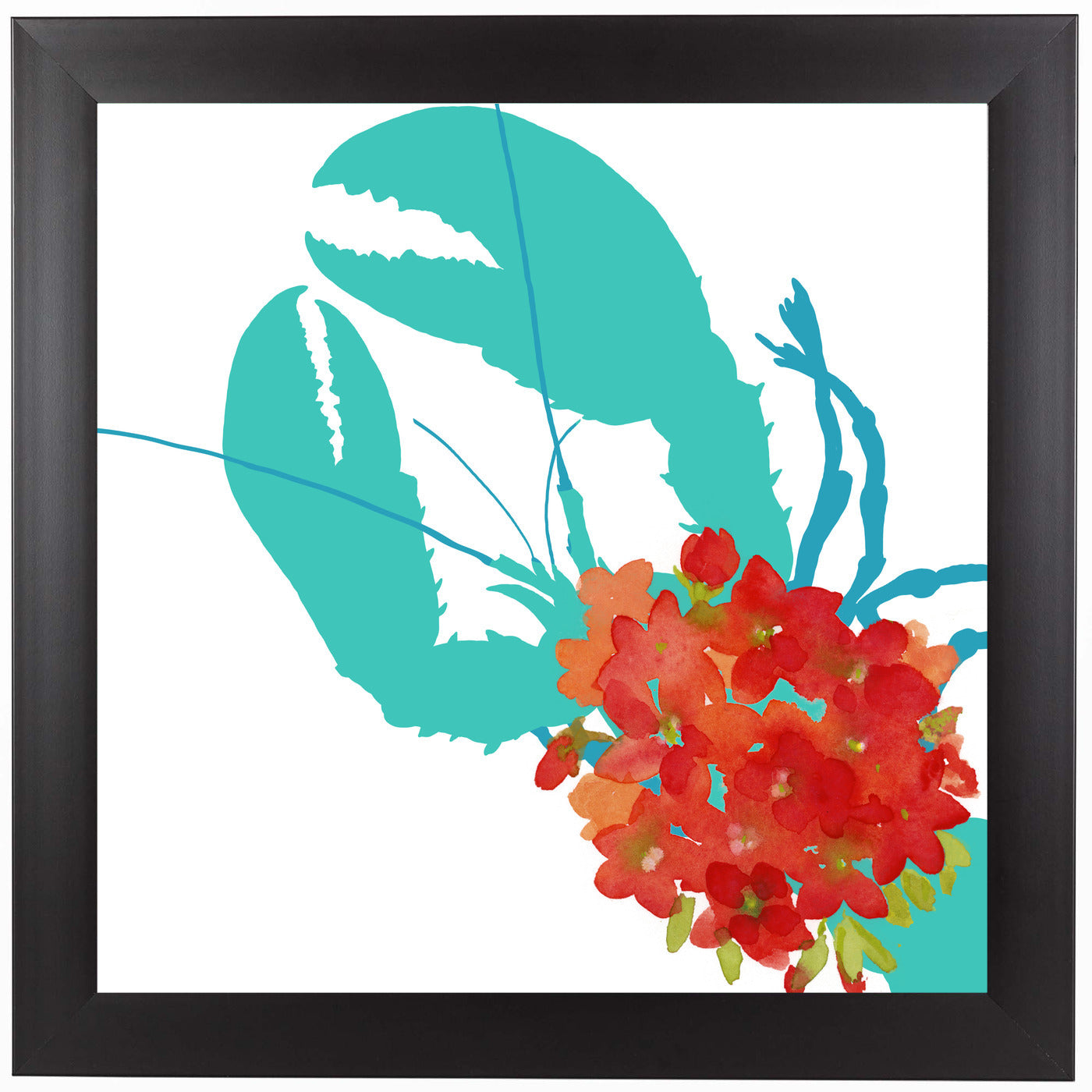 Coastal Geranium by Edith Jackson Framed Print