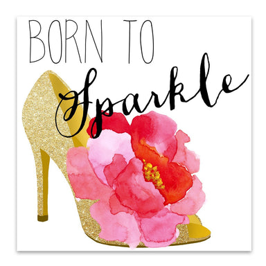 Born To Sparkle by Edith Jackson Art Print - Art Print - Americanflat
