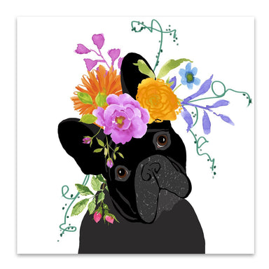 Black Dog by Edith Jackson Art Print - Art Print - Americanflat