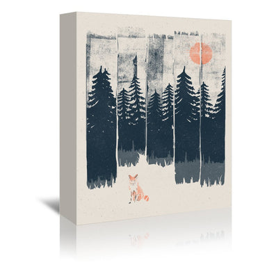 A Fox In The Wild by NDTank Wrapped Canvas - Wrapped Canvas - Americanflat